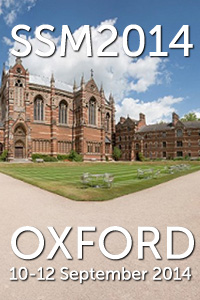 58th Annual Scientific Meeting Keble College, University of Oxford 10-12 September 2014